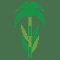 Planta verde tallo
