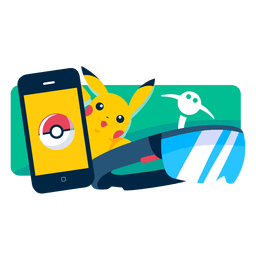Pokémo Go Reality-Spiel mobile App