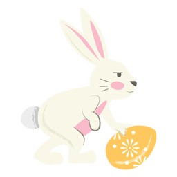 Rabbit  Easter egg rolling