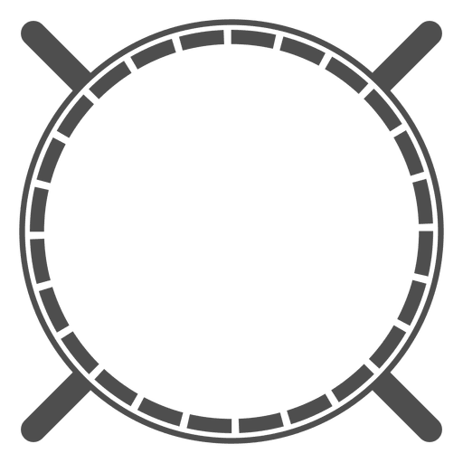 Rounded shield heraldic crossed spears Transparent PNG