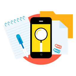 Search smartphone apps