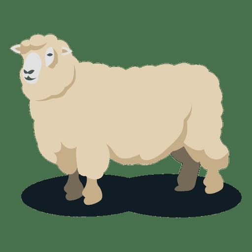 Schafwolltier