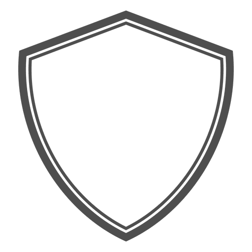 Shield heraldic emty