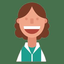 Sweatshirt woman smile