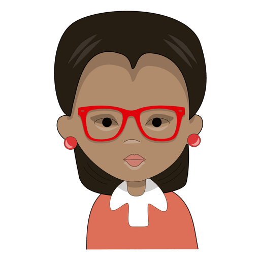 Teacher  Serious red glasses Transparent PNG