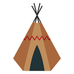 Teepee  Indians shelter