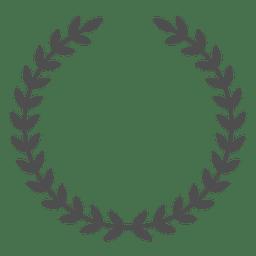 hojas de interrupción de la guirnalda