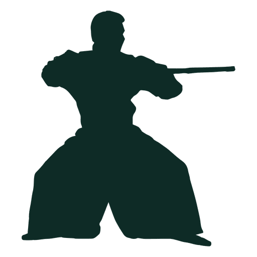 Aikido stance bo Transparent PNG
