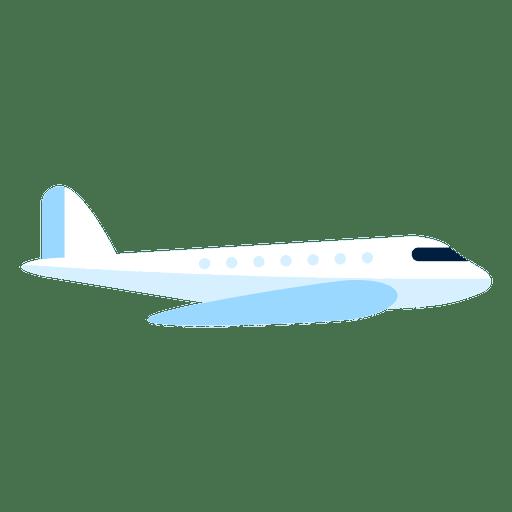 Vuelo de pasajeros de avión