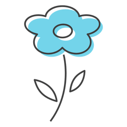 flor azul cheiro Beauty