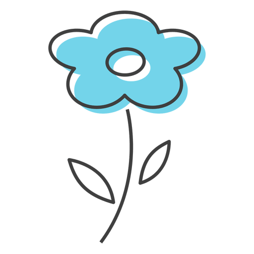 Blue flower smell  Beauty
