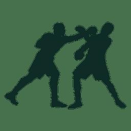 Bloco de boxe soco