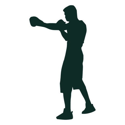 Entrenamiento de boxeo de shadowboxing Transparent PNG