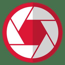 Cámara de luz roja diafragma