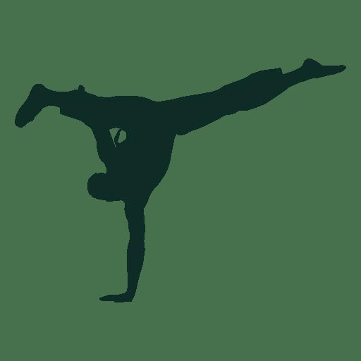 Capoeira brazil handstand Transparent PNG