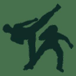 Capoeira brasilianischer Tritt