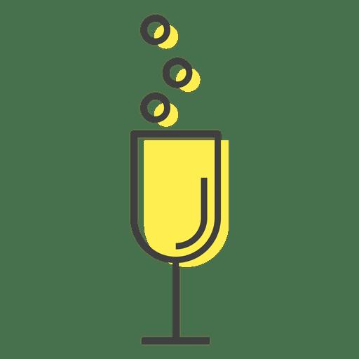 Beber copa de champagne Transparent PNG