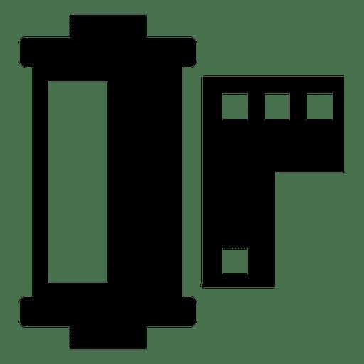Film strip negative Transparent PNG