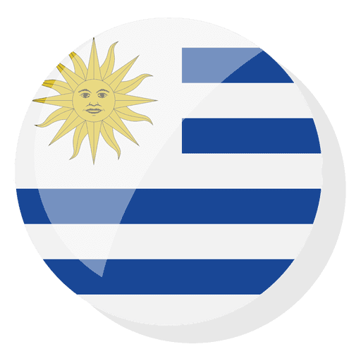 Flag country uruguay Transparent PNG