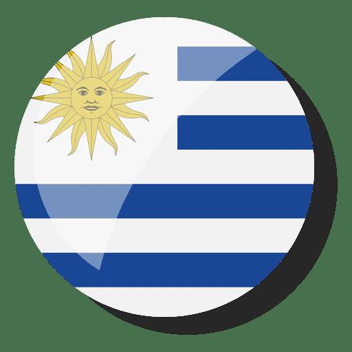Flag country uruguay