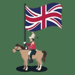 Britischer Brasilien-Reichsoffizier