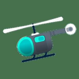 Hélice de aterrizaje de helicóptero