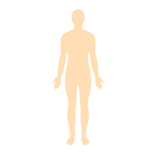 Human body man silhouette Transparent PNG
