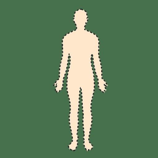 human body man with dashed lines transparent png svg vector. Black Bedroom Furniture Sets. Home Design Ideas