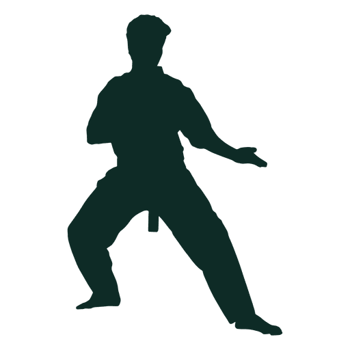Karate stance kata Transparent PNG