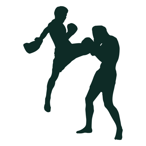 Kickboxing flying knee fighting Transparent PNG