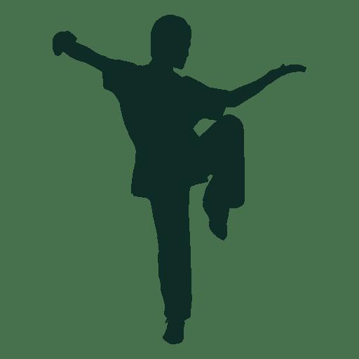 Kung fu stance Transparent PNG