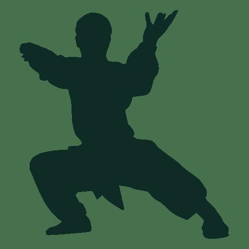 Kung fu postura shaolin