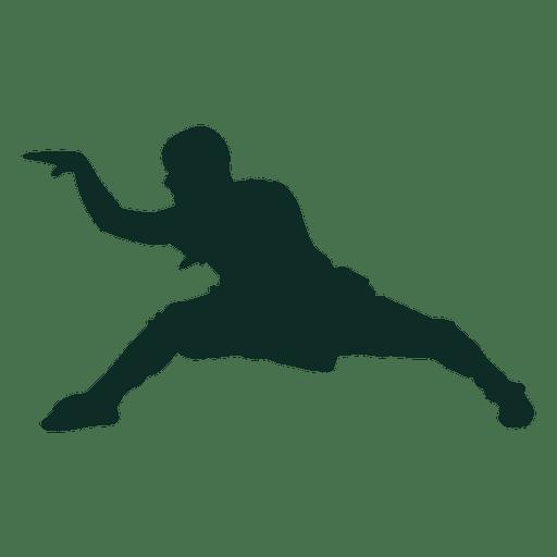 Kung fu stance training Transparent PNG