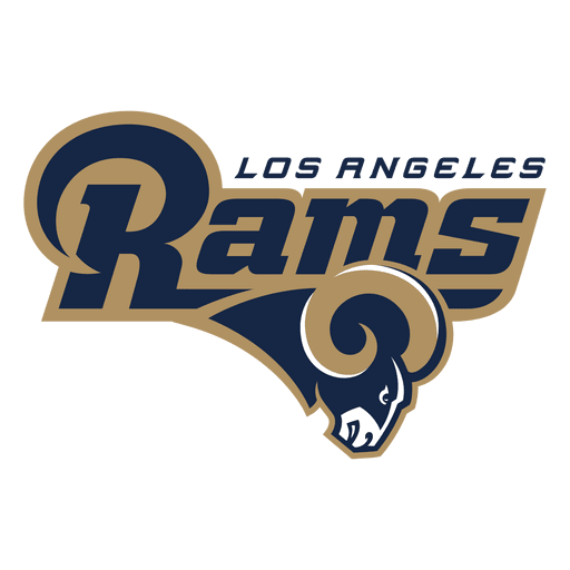 Los angeles rams american football Transparent PNG