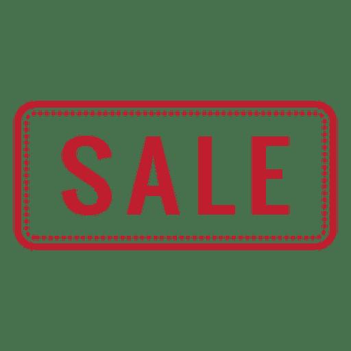 Retângulo arredondado vermelho venda Transparent PNG