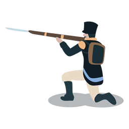 Soldier united provinces  Gun bayonet