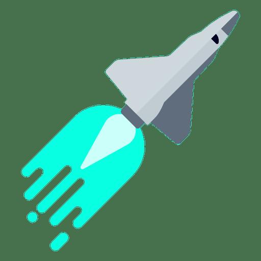 Space shuttle rocket exploration