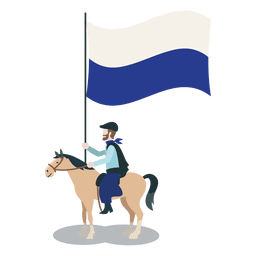 Standard bearer national party  Horseman