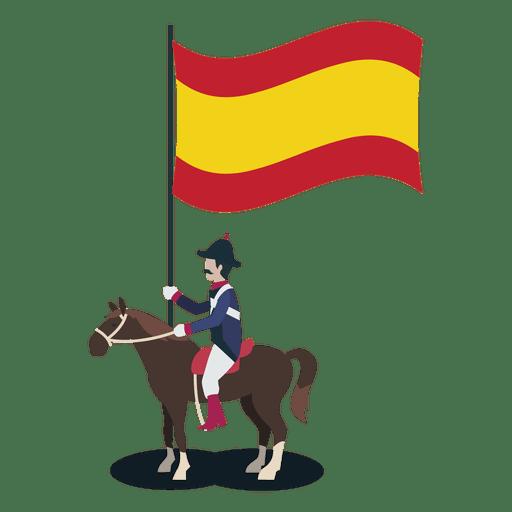 Oficial de portador de espanha Transparent PNG