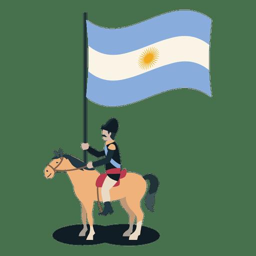 Standard bearer uruguay  Soldier Transparent PNG