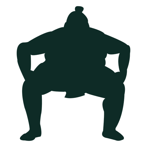 Sumo wrestling heavyweight traditional Transparent PNG