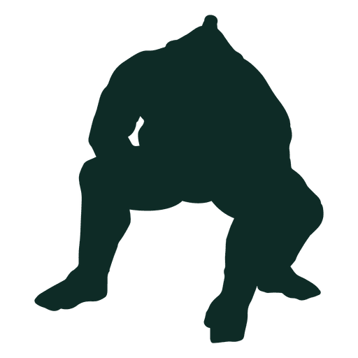 Sumo japan hand down Transparent PNG