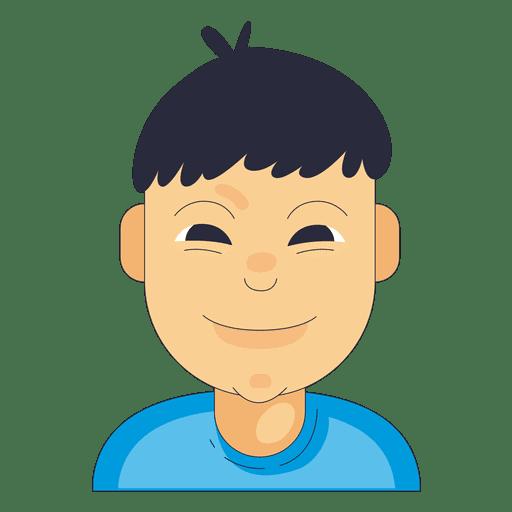 Dünne Augenbrauen schmale Nase Junge Transparent PNG