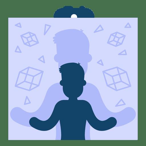 Simulación de ilusión de realidad virtual Transparent PNG