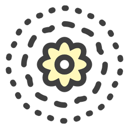 flor de lirio de agua flotante