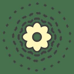 Flor de plantas de lírio d'água