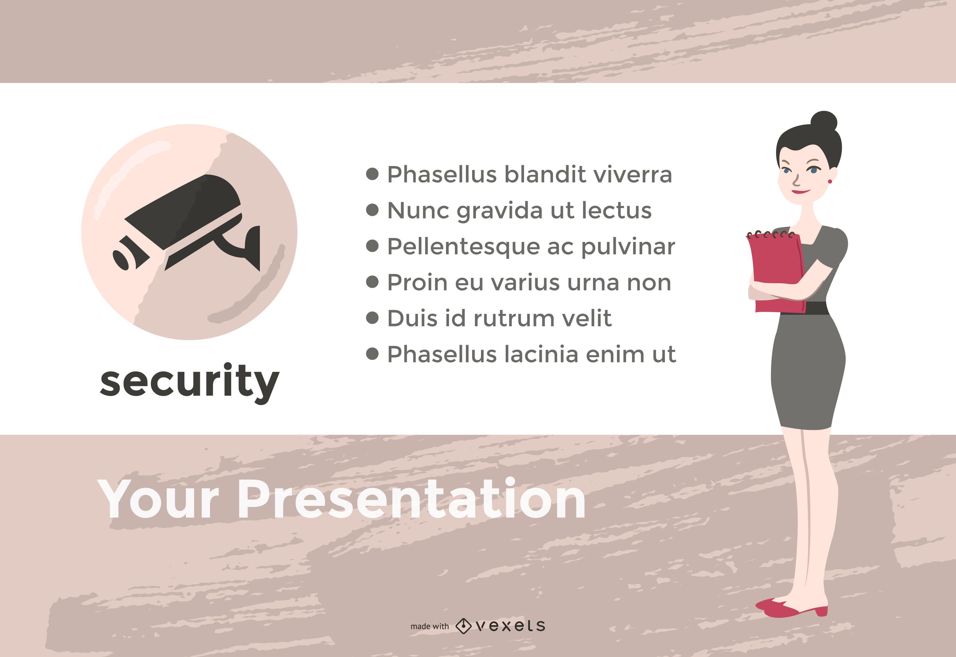 Office presentation slide maker