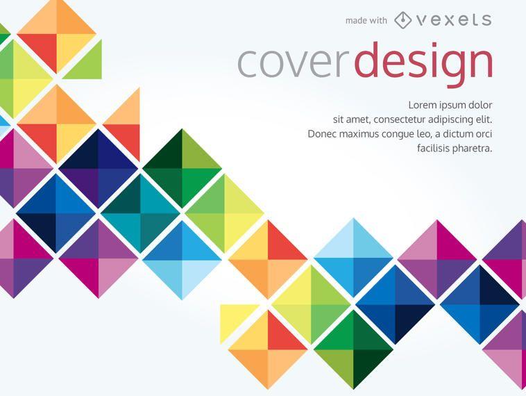 Fabricante de carteles abstractos y geométricos.