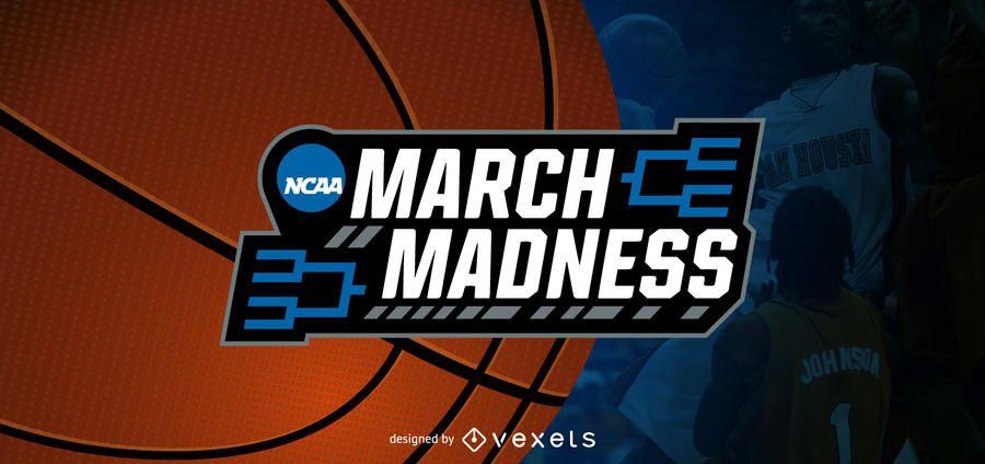 March Madness cabeçalho do blog de basquete