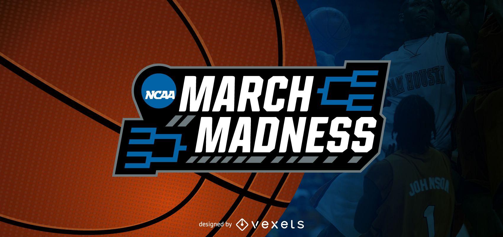 March Madness basketball blog header
